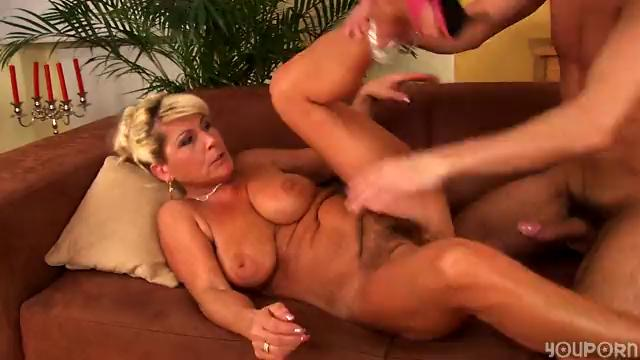 Horny aged Berna can't live without to fuck